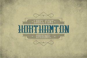 Northamton Vintage Typeface