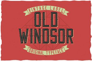 Old Windsor Vintage Typeface
