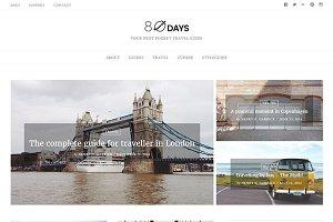 EightyDays - WordPress Travel Theme