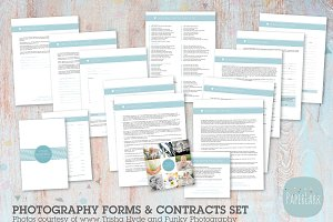 NG007 Photography Contracts & Forms