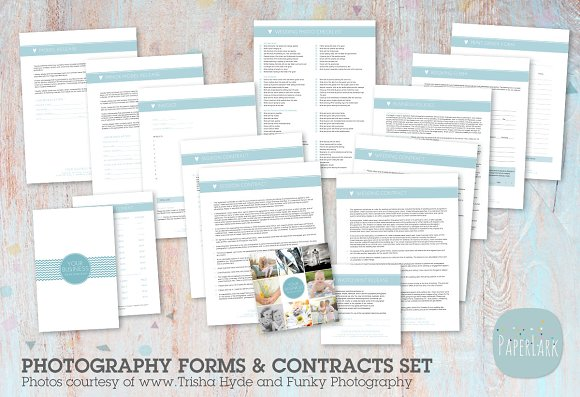 NG007 Photography Contracts Forms