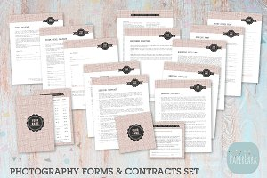 NG008 Photography Contracts & Forms