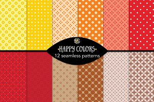 Set 63 - 12 Seamless Patterns