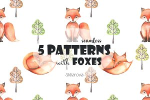 Seamless patterns with FOXES