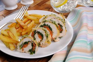 Chicken breast roll
