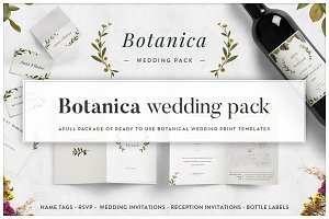 Botanica - Wedding Suite [print]