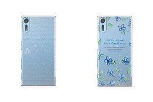 Sony Xperia XZs-PC Clear Case Mockup