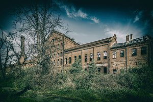 Abandoned and forgotten building