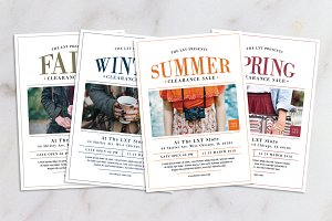 All Season Fashion Sale Flyer