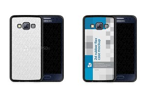 Galaxy A3 2015 2d Rubber Flex Case