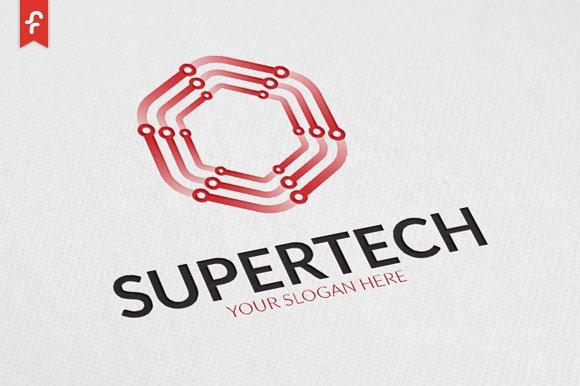 Super Tech Logo