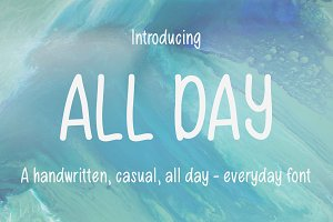 All Day Font