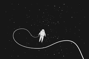 alone astronaut