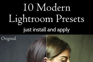 10 Modern Lightroom Presets