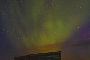 Aurora Borealis. Iceland