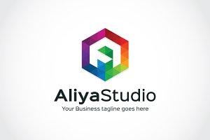 Aliya Studio Logo Template