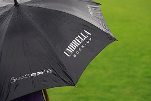 Come Under My Umbrella Mockup