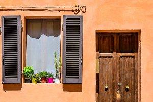 Italian window and door.
