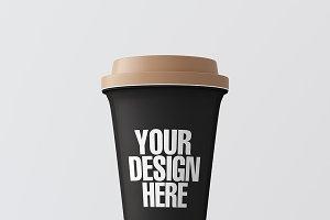 Blank coffee cup mockup 012