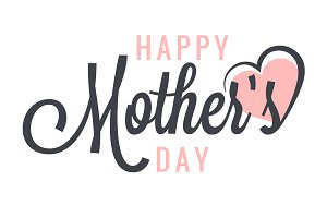 mothers day vintage label background