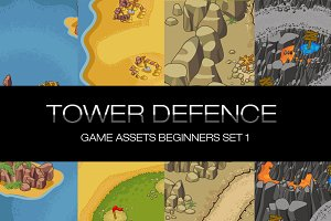 Tower Defence - Game Assets