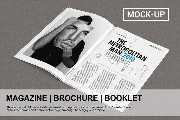 Download Magazine / Brochure Mock-up