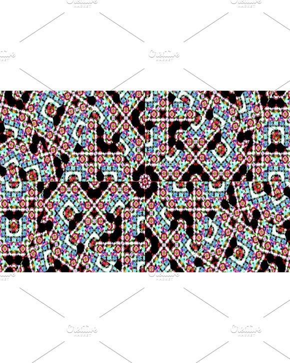 Islamic Ornate Seamless Pattern Mosaic