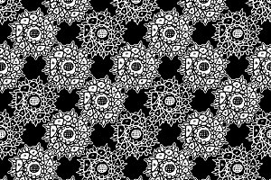 Hand Draw Graphic Seamless Pattern