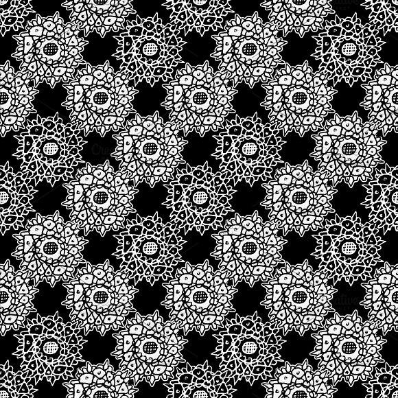 Hand Draw Graphic Seamless Pattern