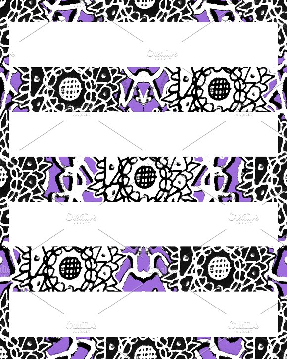 Stripes Ornate Background Pattern