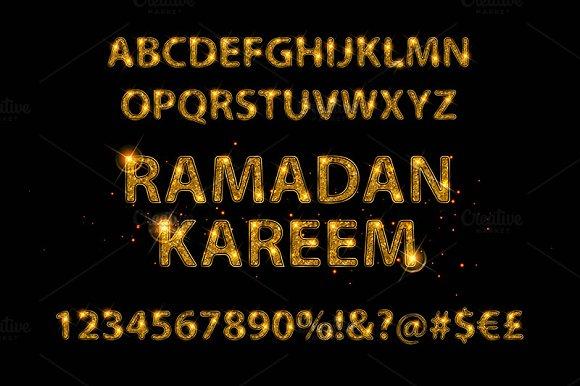 English Alphabet In Arabic Style