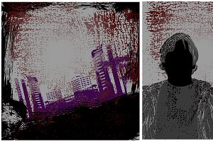 Urban Grunge Vector Backgrounds