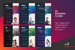Corporate Flyer Templates 6PSD - #2