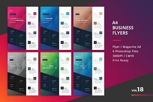 Corporate Flyer Templates 6PSD - #18