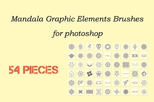 Mandala Graphic Elements Brushes