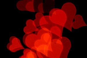 Romantic Red Hearts