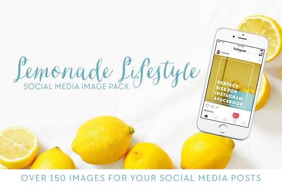 Lemonade Lifestyle Social Media Pack
