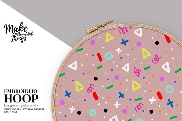 Free Isolated embroidery hoop #585