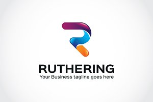 Ruthering Logo Template