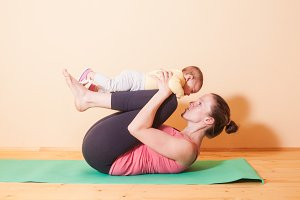 Wellness yoga exercises