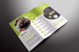 Fast Food Tri-fold Brochures