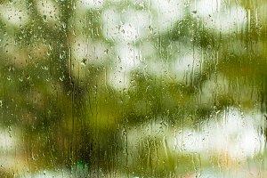 Summer rainy day