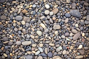 Icelandic Beach Pebbles Background