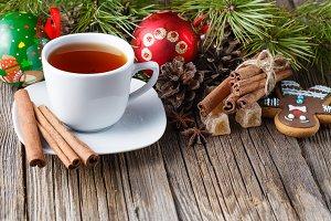 Heating tea