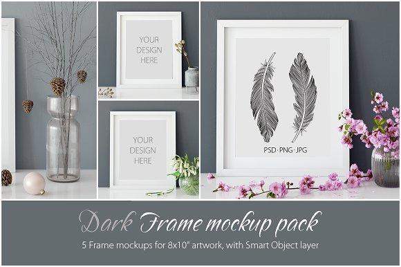 Frames Mockup 8x10 PACK