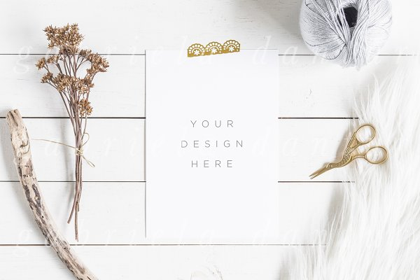 Styled Stock Photography Mockup PSD