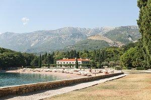 beach and Adriatic Sea, Montenegro