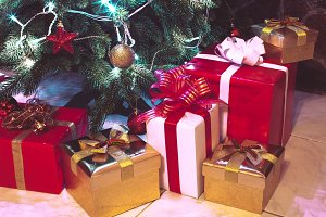 Presents boxes