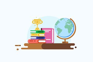 Education Concept. Vector design