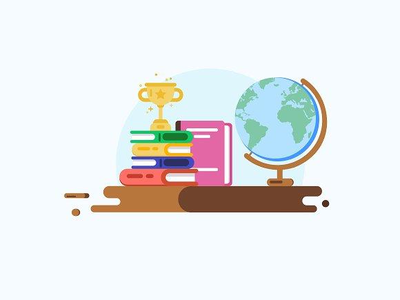 Education Concept Vector Design